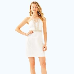 Lily Pulitzer Trista White Size 10 Mini Dress